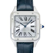 Silver Dial Men's Watch Genuine Cartier Santos-Dumont Wssa0032 *Brand New*