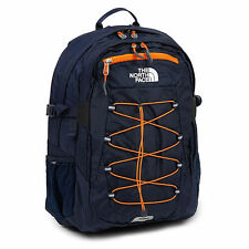 NEW The North Face Borealis Classic 28L Backpack Cosmic Blue / Power Orange NWT