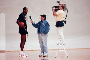 LD129-10 NBA Finals 1992 Portland Trail Blazers Drexler (65) ORIG 35mm NEGATIVES