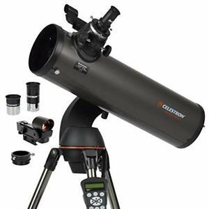 Celestron - NexStar 130SLT Computerized Telescope - Compact and Portable - Ne...