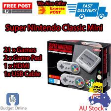 Brand New Super Nintendo Mini Classic Console SNES 21 Pre-Installed Games
