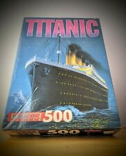 Vintage Titanic Night Time 500 Piece Puzzle by Talicor 13x19in Complete