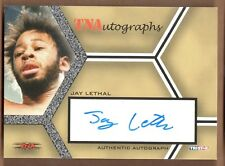 TNA TOTAL NONSTOP ACTION WRESTLING (2008) Autograph Card #A-JL JAY LETHAL