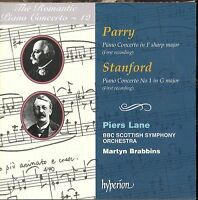 Hubert Parry Charles Stanford CD NEW The Romantic Concerto Martyn Brabbins