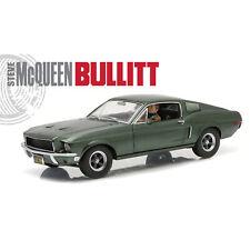 Bullitt 1968 Mustang with Steve McQueen Driving