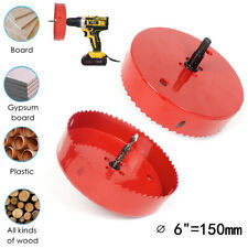 Hole Saw Blade 6 Inch 150mm Bi Metal Speed Slot Drilling Cutter Woodworking Tool