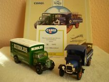 Corgi Clásicos: el Ruddles: Bedford 'o' Series Van & Thorneycroft Camión de Cerveza