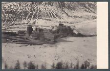 TORINO SESTRIERE 18 Cartolina FOTOGRAFIA PRIVATA 1949