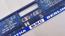 2 x Hertha BSC Berlin Kennzeichenhalter Nummerschildhalter Nummerschild
