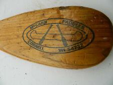 """McCann Paddles Cornell Wi 54732 Minature Canoe Paddle 20"""""""