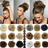UK Extra Thick Curly Messy Bun Scrunchie Ponytail Hair Extensions Hair Piece pl