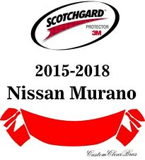 3M Scotchgard Paint Protection Film Clear Fits 2015 2016 2017 2018 Nissan Murano