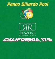 R.L. by Longoni California panno biliardo pool 8' cm.280x170 piano e sponde