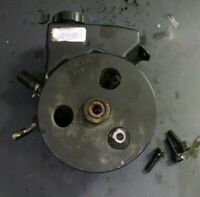 GM POWER STEERING PUMP ASSEMBLY with Pulley and Bolts, 10313377, 10166335