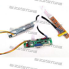 "UNIVERSAL LCD MONITOR DRIVER BOARD CONTROLLER KIT SUPPORT 10-42"" LVDS MT561-MD"