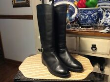 Ladies Canada North Black Leather Felt Lined Waterproof Boots 4812-18 9.5M