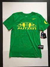 """Nike Oregon Ducks """"Autzen Stadium"""" Apple Green Campus T-Shirt Men's Size M"""