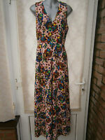 DOLLY & DELICIOUS CROSS BACK TEXTURED JUMPSUIT PINK FLORAL NEW (ref 359) SALE
