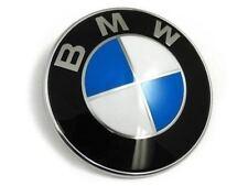 BMW Emblem 82mm Haube Logo Vorne Hinten Motorhaube Kofferraum 1 3 5 6 7 X Series