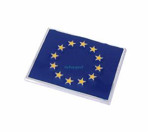 EUROPA European EU Flag ABS Trunk Badge Emblem Sticker For BMW Mini