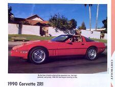 1990 Chevrolet Corvette ZR1 LT5 350 info/specs/photo/price production 11x8