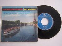EP 45 TOURS VINYLE 4 T , RAY VENTURA , CHEZ MOI . VG  / EX .