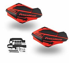 Powermadd Sentinel Handguards Guards Kit Red Snowmobile Snow Ski Doo Summit