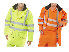 BSWIFT 7IN1OR ELSENER 7 IN 1 Hi-Viz Jacket with Body-Warmer Removable Parts