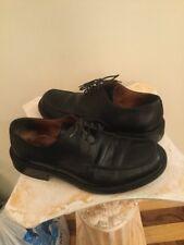 Rare Longchamp Men's Black Oxfords Moc Toe Dress Shoes Size 41.5 Italy