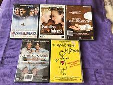 DVD LOTTO 5 FILM  (DRAMMATICI)
