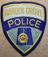 CA Garden Grove California Police Patch