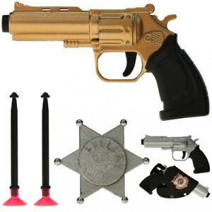 Action-Set Polizei, Police - Kostüm, Spielzeugpistole, Karneval, Fasching, Pisto
