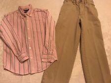 Boy's GAP dress outfit shirt/pants sz 8! Great condition!