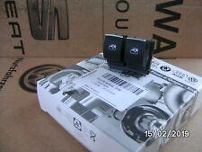SEAT LEON 2013 Onwards + Mk7 GOLF 2 BUTTON WINDOW SWITCH 5G0959858G IHA