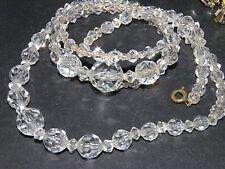 demi crystal choker necklace and twist bracelet