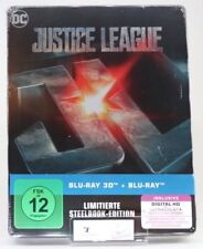 Justice League als Steelbook (Limited Edition exklusiv Amazon.de) [3D BRD