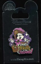 Minnie Mouse Pirate Bling is my Thing! Disney Pin