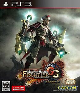Capcom Sony PlayStation 3 Monster Hunter Frontier GG Premium PS3 From Japan