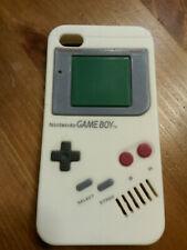 IPhone 4 móvil, funda protectora, funda Nintendo Gameboy silicona funda bumper Apple silicone 4s