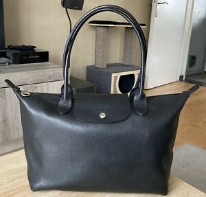 Sac longchamps pliage Noir   eBay