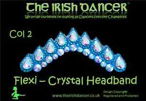 Flexi Crystal Headband Style #1