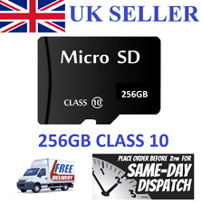 New 256GB Micro SD Card Class 10 TF Flash Memory SDHC SDXC - 256G - UK SELLER