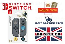 HORI Analog Caps - ZELDA Edition for Nintendo Switch Joy Con (4 Covers)