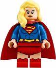 Custom Supergirl minifigure mini figure toy Super Girl DC w Lego Sticker TV Show