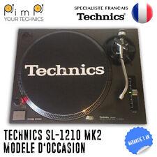 PLATINE TECHNICS SL 1210 MK2 / OCCASION / 1 AN DE GARANTIE