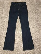 CARMAR Jeans Size 26 X 34 Bootleg Mid Rise Stretch Denim Womens Bruce NWT