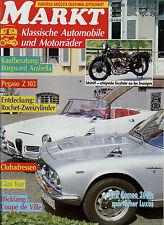 Markt 10/91 1991 Triumph TR 5 PI Schüttoff Pegaso Z102 VW 1300 Isar 600 Arabella