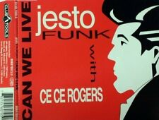 Jestofunk Can we live (4 versions, 1994, with Ce Ce Rogers)  [Maxi-CD]
