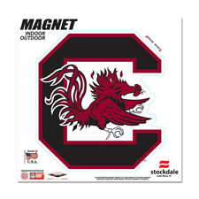 "SOUTH CAROLINA GAMECOCKS 6""X6"" DIE-CUT MAGNET FOR INDOOR OR OUTDOOR HIGH QUALITY"