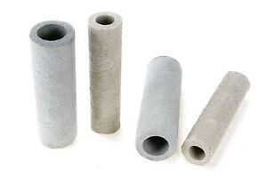 Einguss-Röhren, Steigerröhren, Isolierspieser, 10 Stk. Di=20mm, Gießen, Metall